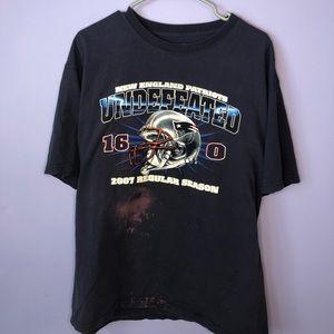 Vintage patriots t shirt